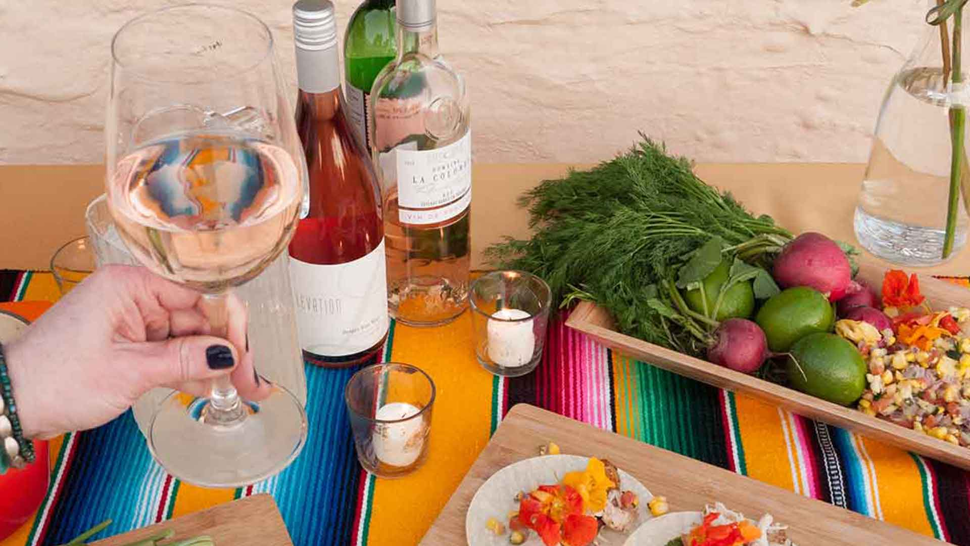 Mexican Food Pairing Dinner