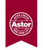 Astor Center logo